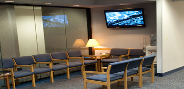 how to efficiently build a corporative waiting room video